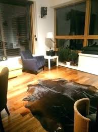 hide rug cow carpet zebra ikea uk furniture