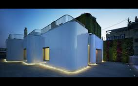 garden led lighting strips. exterior led strip lighting in the architectural screens and ground garden design strips