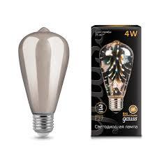 <b>Лампа Gauss</b> LED <b>3D</b>-<b>Butterfly</b> E27 4W <b>147802404</b> - официальный ...