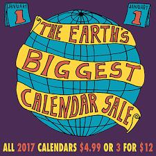 Annual Calendar Sale Pegasus Books