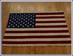 original american flag rug