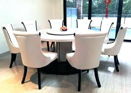 circle dining table and 6 chairs grey marble round set kitchen winning