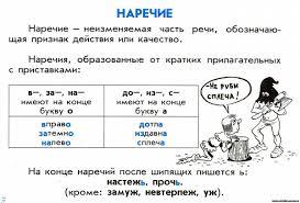 Контрольная работа по теме Наречие tat school ru Контрольная работа по русскому наречие