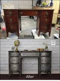 diy furniture refinishing projects. DIY Desk Update With Metal Effects And Metallic Paint By Modern Masters | How-to. Refurbished FurnitureFurniture RefinishingFurniture Diy Furniture Refinishing Projects E
