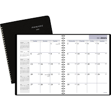 At A Glance Dayminder Monthly Planner Icc Business Products