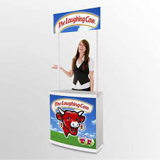 Marketing Display Stands Custom Product Display Marketing Stand Portable Sampling Tasting