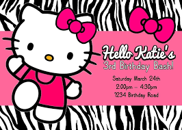 Hello Kitty Invitation Printable Printable Hello Kitty Invitations Radiovkm Tk