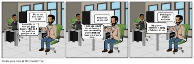 Scenario Interview Interview Scenario By Darius Lindsey Storyboard