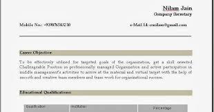 Resume Curriculum Vitae Help India
