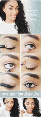simple makeup for