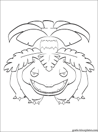 Leuke Kleurplaat Pokémon Venusaur Gratis Kleurplaten