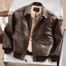 leather a 2 flight jacket road to victory