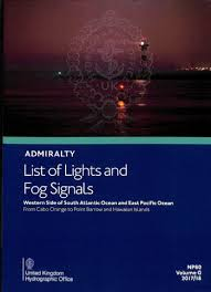 List Of Routeing Charts Admiralty List Of Lights And Fog Signals Np80 Vol G