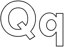 Letter Q coloring pages 1 650x475