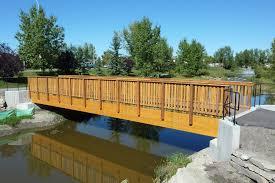 Garden Bridge Design And Construction Glulam Beam Pedestrian Bridges Pedestrian Bridge Bridge