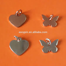 Shapes Customized Heart And Butterfly Pendant Charm Fashional Metal Jewelry Tags Buy Heart And Butterfly Shapes Custom Charms Most Popular Design