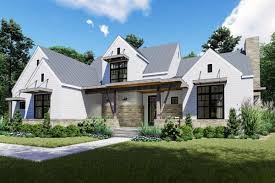 Stone Farmhouse Designs Plan 16905wg Remarkable 4 Bed Modern Farmhouse With First