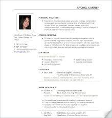 Sample Online Resume Best Resume Builder Tool Sample Customer