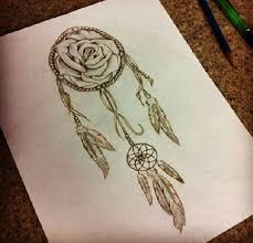Dream Catcher Tattoo Sketch Collection of 100 Dream Catcher Rose Tattoo Design 62