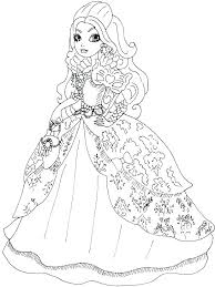 Monster High Coloring Pages And Page Monster High Coloring Pages And
