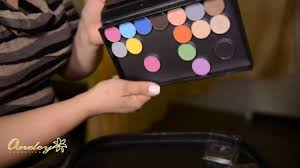 aneley cosmetics tutorials how to use magnetic palette and eyeshadow pans
