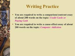 lecture seven cause and effect iii types of writing cause and 13 writing