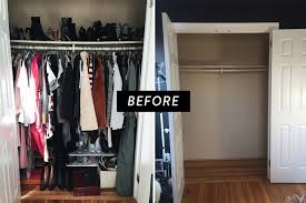 reach in closet design. Reach-in Closet Before Renovation Reach In Design E