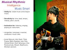 a workshop on multiple intelligences 14 musical rhythmic intelligence