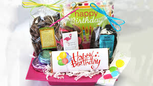 happy birthday delight gourmet chocolate gift basket hand delivered to naples fl