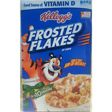 cereal frosted flakes