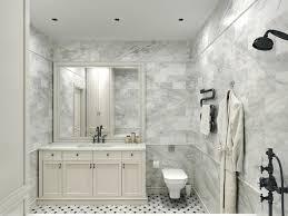 carrara marble bathroom designs. Delighful Carrara Carrara Marble Tile White Bathroom Design Ideas Modernbathroom To Designs Houzz