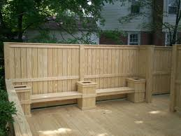 privacy wall deck