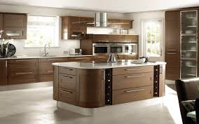 Kitchen Modern Appealing U Shaped Kitchen Design With Wooden Kitchen Cabinetry
