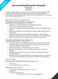 Example Of Accounting Resume Amazing Resume Examples Accounting Internship Accountant Example Senior