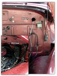 1954 chevy pickup rewire project page 1 firewall engine compartment