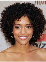 new fashion charm afro short curly lace front human hair wig african american wigs