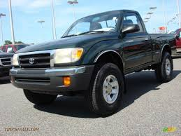 2000 Toyota Tacoma Regular Cab 4x4 in Imperial Jade Green Mica ...