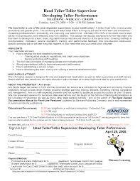 Lead Teller Resume Examples Lead Teller Resume Objective Sidemcicek 5
