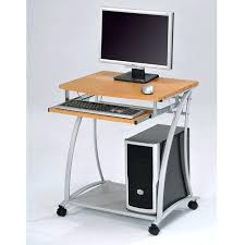 very small computer desk excellent outstanding small computer desk small desk on wheels sidetracked for computer very small computer desk