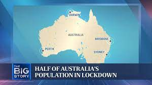 Countries impose movement restrictions — over 12 million Australians in  lockdown | THE BIG STORY - YouTube