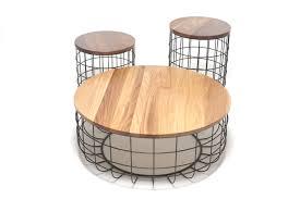 wire coffee table by dare studio design sean dare