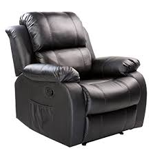 reclining sofa chair. Beautiful Sofa Merax Barwick PU Heated Massage Recliner Sofa Ergonomic Lounge With 8  Vibration Motors Black For Reclining Chair I