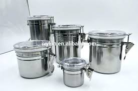 stainless steel canisters with glass lids stainless steel canisters stainless steel canisters stainless steel canister sets
