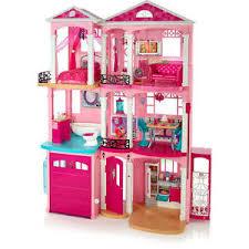 Image is loading Barbie-Dreamhouse-Giftset-3-Floors-7-Rooms-Elevator-