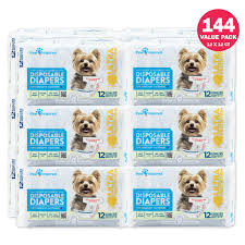 An error occurred. 144ct Paw Inspired Ultra Protection Female Disposable Dog Diapers