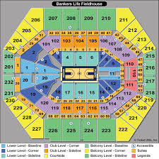Bankers Life Seating Chart Bankers Life Fieldhouse Suite Seating Chart Google Search