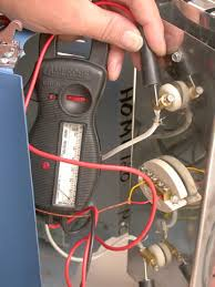 how to use an ohmmeter no 224 shown here is an ohmmeter taking a reading from a heating element