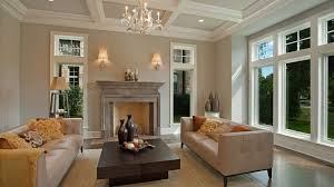 popular living room colours 2017 with incredible stone fireplaces for luxury architecture interior design with good quality crystal chandelier and leather