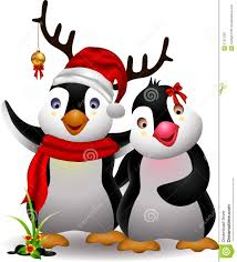 christmas penguin wallpaper. Plain Penguin Cute Penguin Christmas Cartoon Couple With Love In Christmas Penguin Wallpaper N