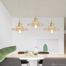Copper Dining Table Lights Dining Chandelier Postmodern Dining Room Chandelier Copper Simple Light Luxury Corridor Light Single Head Hanging Line Lamp Nordic Lamps Flush Ceiling